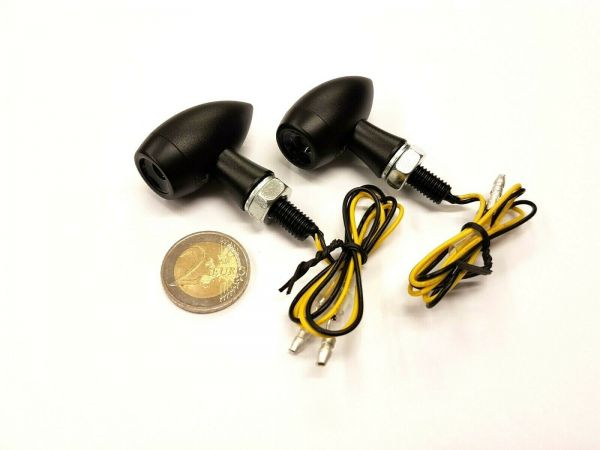 Led-Mini Blinker Bullet mit Alugehäuse, E-geprüft, Top Qualität