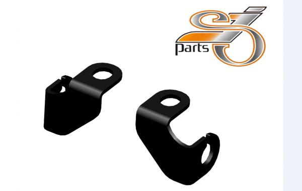 Blinkerhalter für Lenkerarmaturen Harley Davidson Ø10mm