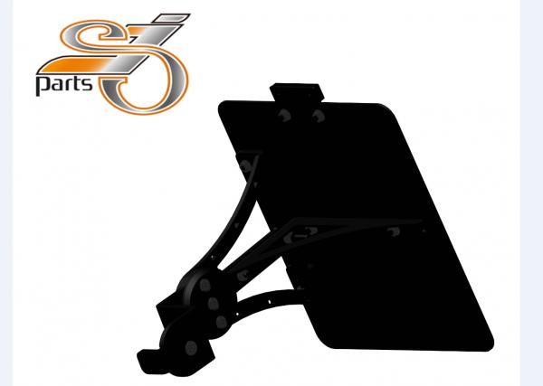 Kennzeichenhalter seitlich Moto Guzzi V9 Bobber Roamer, einstellbar