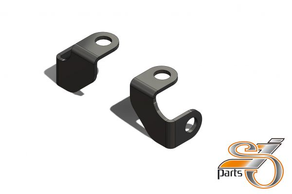 Blinkerhalter für Lenkerarmaturen universal Ø10mm