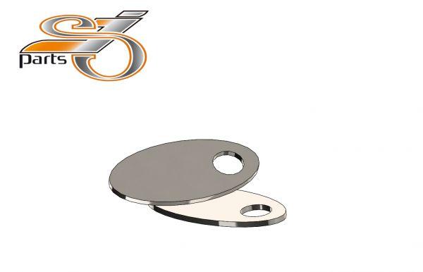 Blinker Montageplatten Harley Davidson Softail, Dyna Sportster V2A