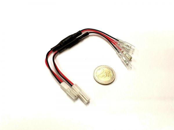 Adapter Kabel mit Widerstand LED Blinker für Honda, 5W/27Ohm