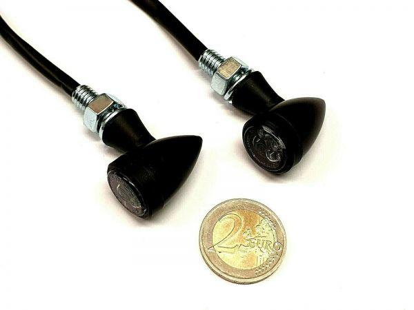 Led-Mini Bullet 3in1 Blinker Custom Bobber mit Alugehäuse